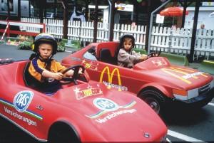 Autos mit Werbepartner